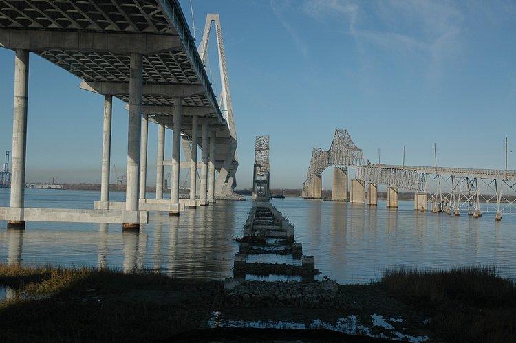 Unbuilding the grace and pearman bridges for Mt pleasant fishing pier